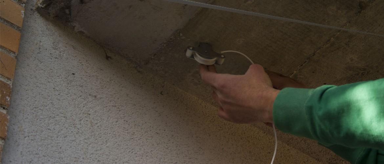 Tendedero de techo fabricado a medida - Tendedero de poleas ...